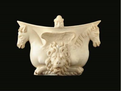 An Italian marble jadiniere