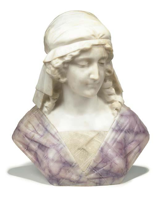 An Italian carved two-tone ala