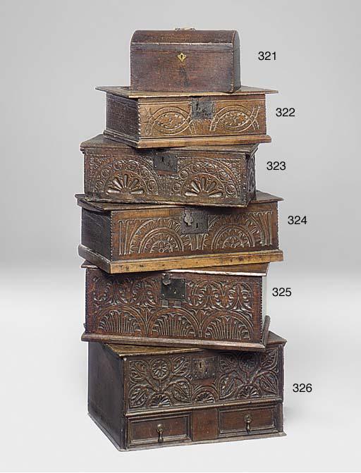 AN ENGLISH OAK BOX
