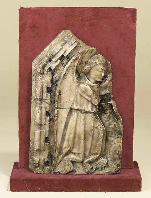 A NOTTINGHAM ALABASTER FRAGMEN