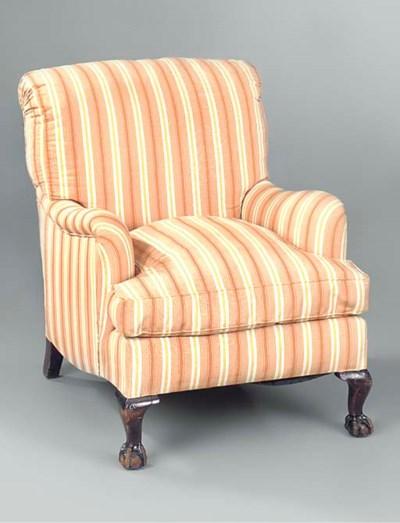 A Howard armchair