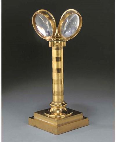 A George IV gilt-brass spring
