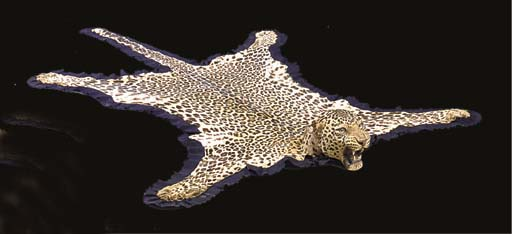 An Indian leopard skin