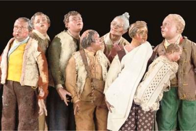 A GROUP OF SEVEN NEAPOLITAN CA