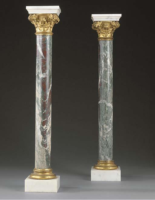 A pair of Italian cipolino man