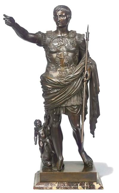 An Italian bronze figure of Au