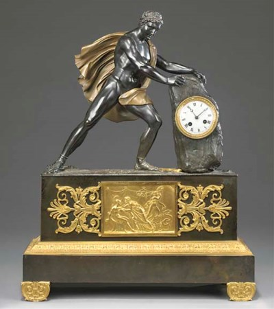 A Louis-Philippe ormolu and br