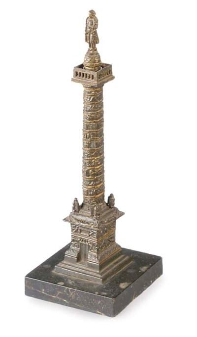 A French spelter model of Napo