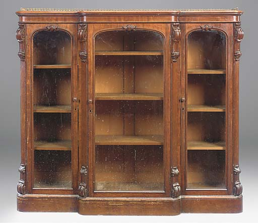 A mid Victorian mahogany break