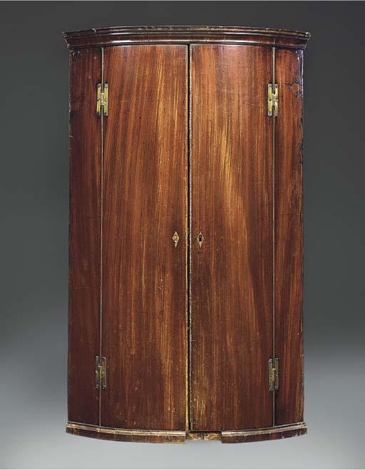 A George III mahogany bowfront