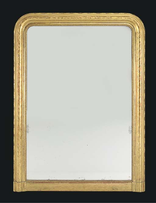 A VICTORIAN GILTWOOD AND COMPO