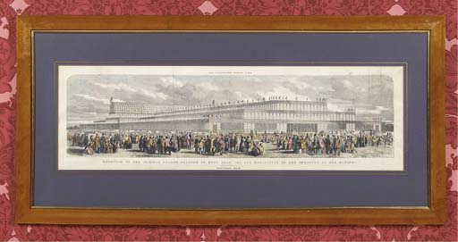 A PAIR OF FRAMED PRINTS OF THE