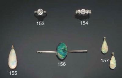 A group of opal jewellery