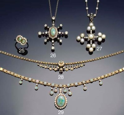 A late Victorian gold, diamond