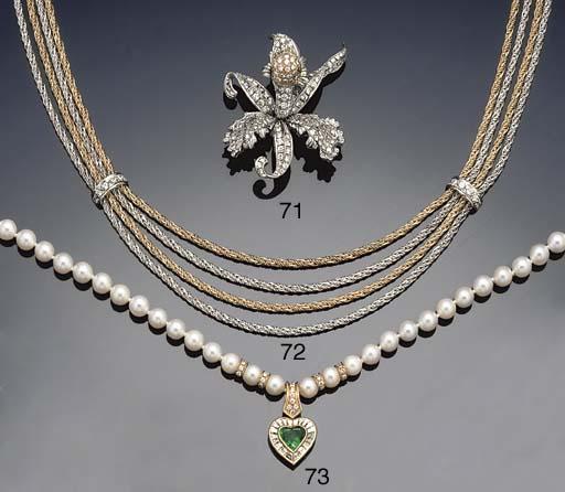 An emerald, diamond and cultur
