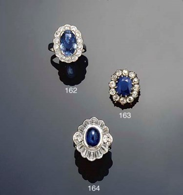 A late 19th century sapphire a