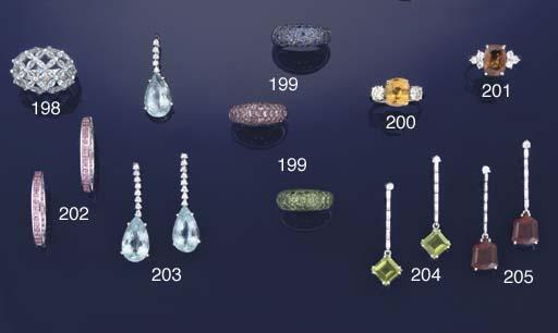 Three gem rings