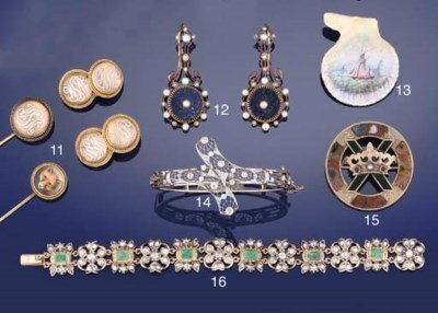 A diamond hinged bangle