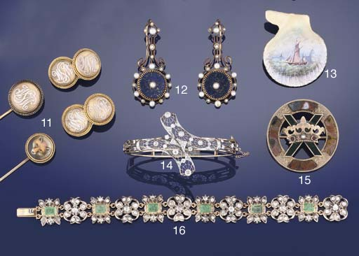 A group of Celtic design jewel