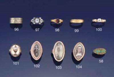 A George II gold, rock crystal