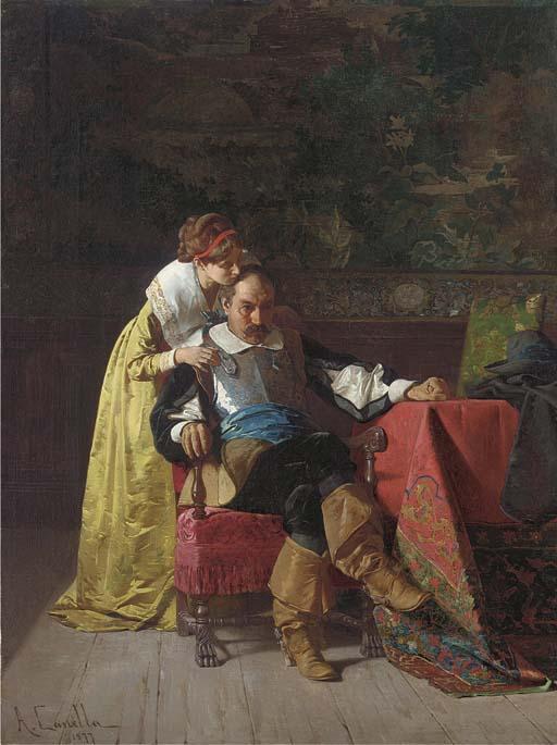 A.Canella (Italian, late 19th Century)