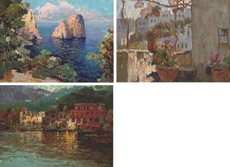 Felice Giordano (Italian, 1880-1964)