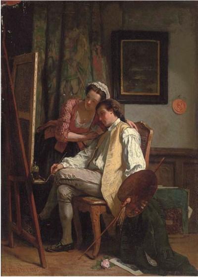 Jean Carolus (Belgian, 1814-18