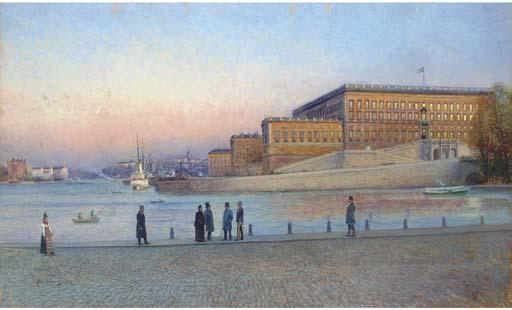 Johan Kindborg (Swedish, 1861-