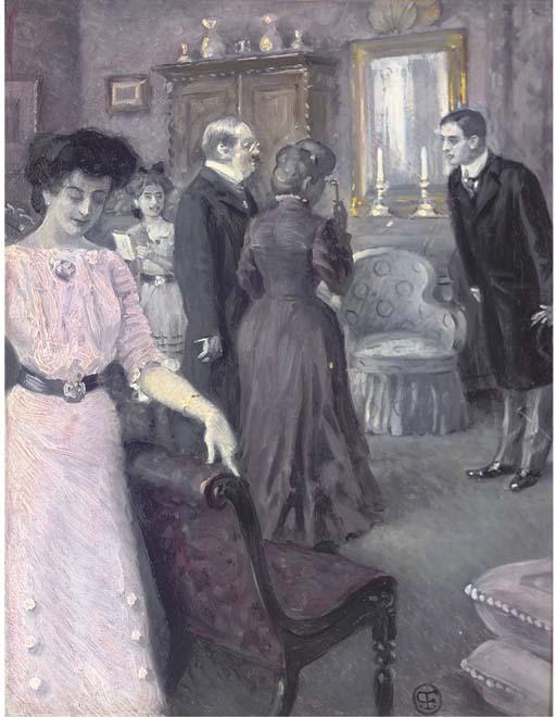 Paul Fischer (Danish, 1860-193