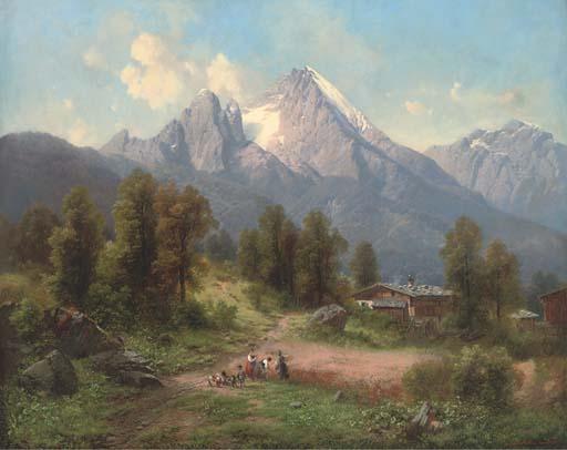 Carl Millner, German (1825-189