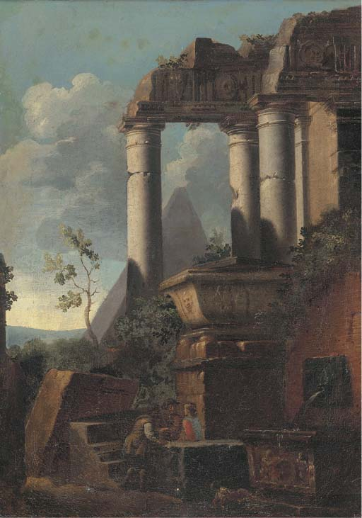 Circle of Giovanni Ghisolfi (M