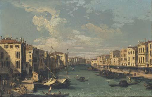 Circle of Antonio Canal, il Ca