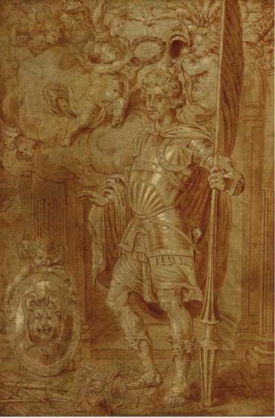 Manner of Sir Peter Paul Ruben