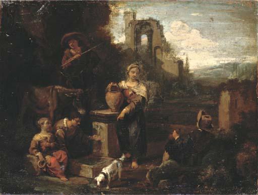 Circle of Pieter van Laer, il
