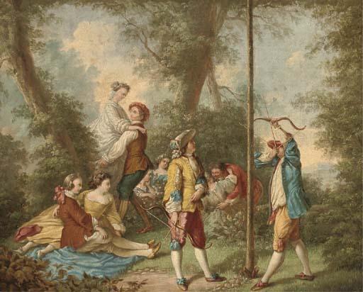 Manner of Nicolas Lancret