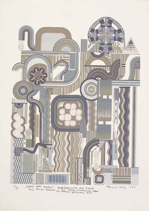Sir Eduardo Paolozzi (B. 1924)