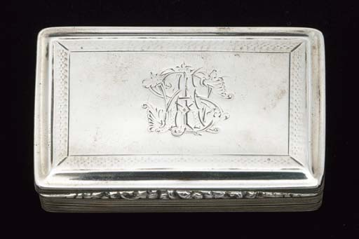 A WILLIAM IV SNUFF BOX