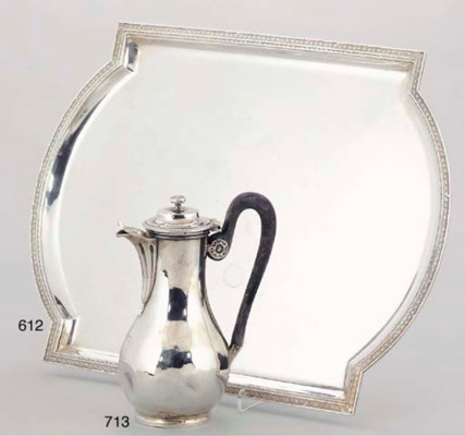 A FRENCH 19TH CENTURY SILVER C