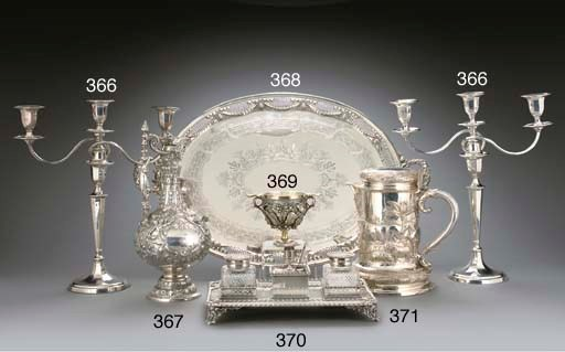 A VICTORIAN SILVER CUP