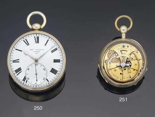 Scetto à Paris. An Interesting Silver Gilt Open face Seconds Beating Pouzzait Lever Quarter Repeating Watch