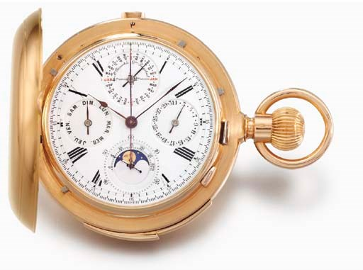 Swiss. A fine and large 18K go