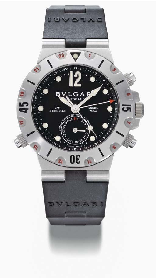 Bulgari. A stainless steel sel