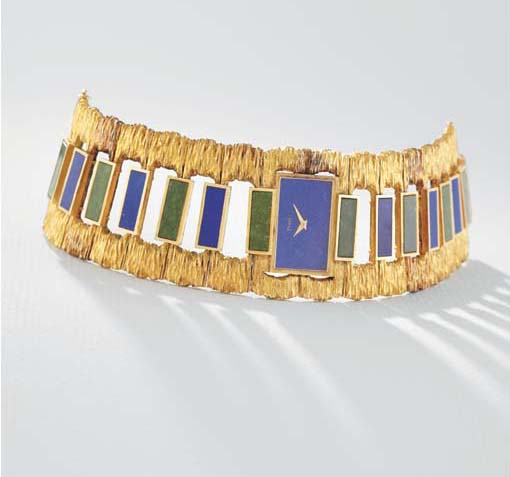 Piaget. A highly unusual 18K g