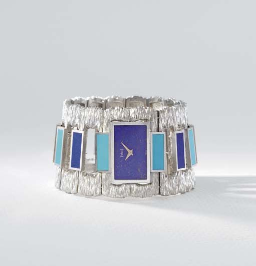 Piaget. A highly unusual 18K w
