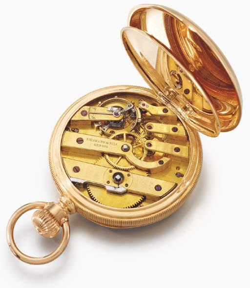 Erismann & Fils. An 18K gold o