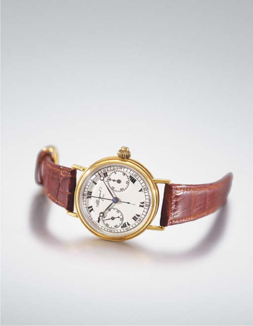 Breguet. An extremely fine and