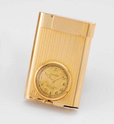 Eterna. A rare 18K gold lighte