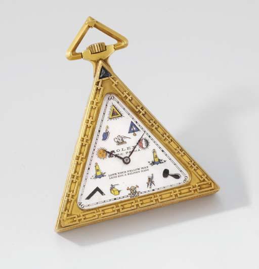 Rolex. An unusual gold-filled