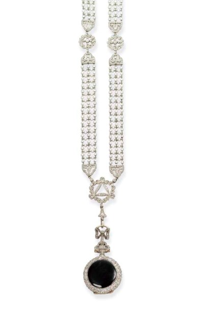 A BELLE EPOQUE DIAMOND AND SEE