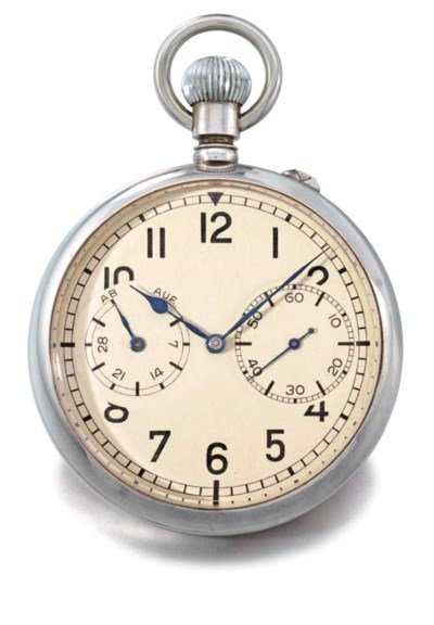 A. Lange & Söhne. A silver ope